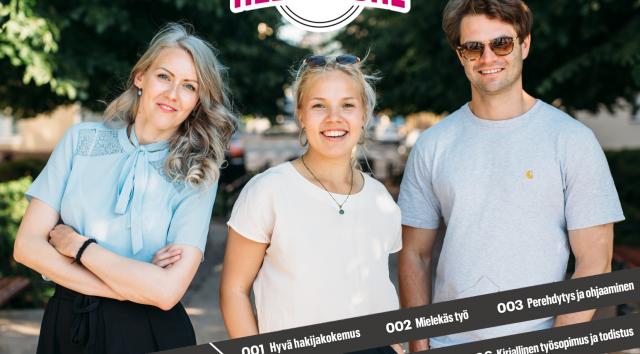 Hyvinvointiala HALI on mukana vuoden 2019 Vastuullinen kesäduuni -kampanjassa